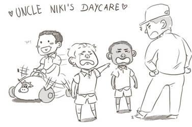 uncle niki's daycare by pappadu