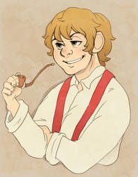 Bilbo Baggins by pappadu