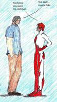 YP Quicky Sketch by kianna713x