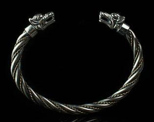 Fenrir bracelet , Viking bracelet - Tyvodar.com by tivodar66