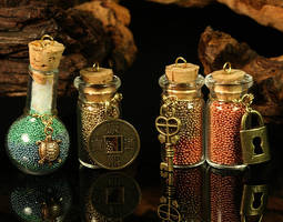 Four Bottles of Wizards' Luck by CatharsisJB