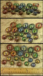 Dragons' Eyes Pendants by CatharsisJB