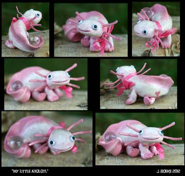 My Little Axolotl by CatharsisJB