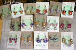 Lots of earrings by CatharsisJB