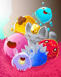 Slime Rancher by Dragons-Desires