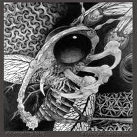 devouring bug by Deborah-Valentine