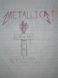 Cliff Burton tribute by Nossek by Thrash-Metal