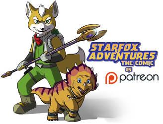 Starfox Adventures: The Comic on Patreon!! by PumpkinSoup
