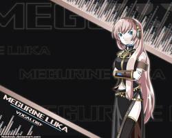 Megurine Luka -Vocaloid 2- by Nolohndz
