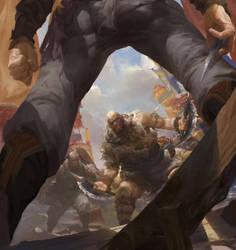 Battle by fengua-zhong