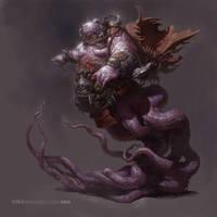 Octopus monster by fengua-zhong