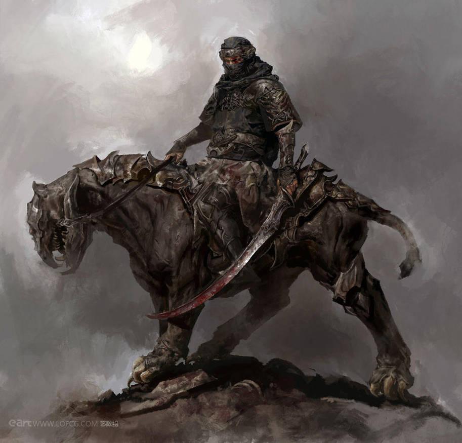Warrior by fengua-zhong