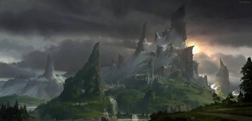 Mountain by fengua-zhong
