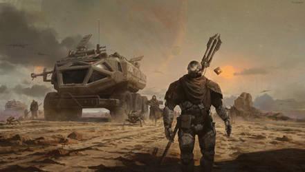 Journey -sci fi demo by fengua-zhong