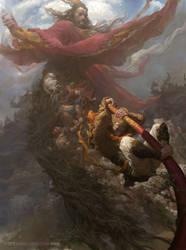 Sun Wukong by fengua-zhong