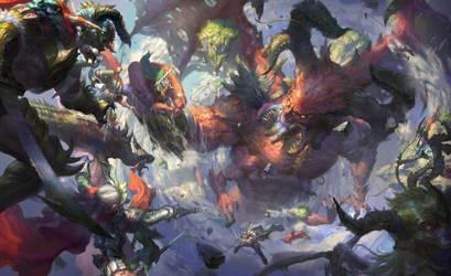 Slew a dragon by fengua-zhong