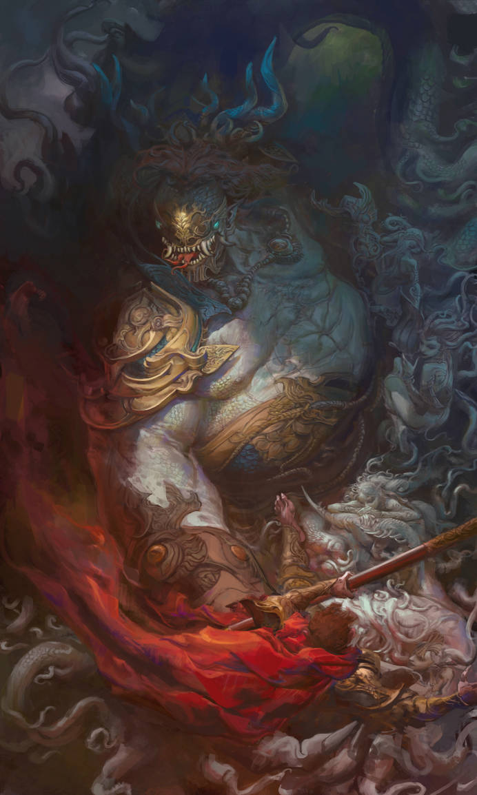 Dragon king by fengua-zhong