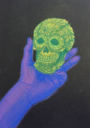50 Hands Project - Skull by IFADEU337