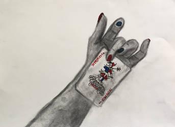 50 Hands Project - Joker by IFADEU337