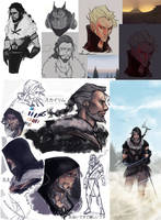 oc galore (tes) by audelade