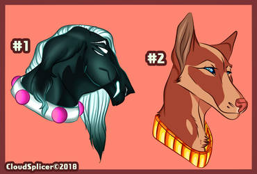 Canine adopts - OPEN - [Paypal and  points] by CloudSplicer