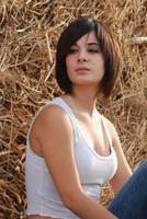 Sitting on Hay 4 by Chordewa