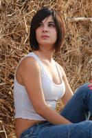 Sitting on Hay 5 by Chordewa