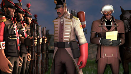 Napoleonic styled tf2 by vonklerks
