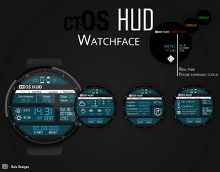 ctOS watchface by SolidRJ