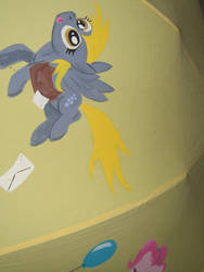 Ponybrella Panel 6: Derpy Hooves by chotii