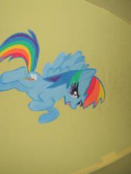 Ponybrella Panel 5: Rainbow Dash by chotii