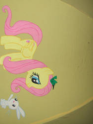 Ponybrella Panel 3: Fluttershy and friends by chotii