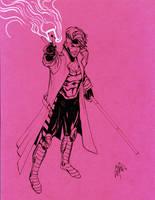 Gambit in pink by peetietang