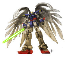 Wing Zero Custom by peetietang