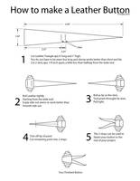 Leather Button Instructions by bigblued