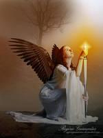 Solemn Angel  by RogerioGuimaraes