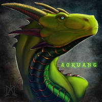Christmas busts: Aokuang by noctem-tenebris