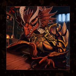 The Crimson Guest by noctem-tenebris