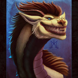 The Grin of Silence by noctem-tenebris