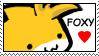 Foxy Stamp by Faezza