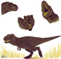 T rex 2 by Faezza