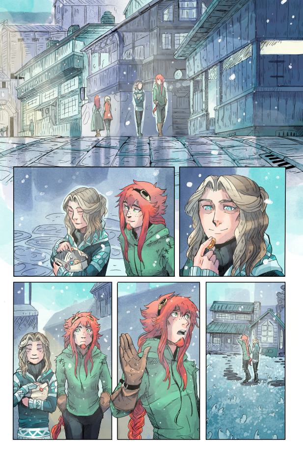 Extra Chapter Page from YIH by MikaelHankonen