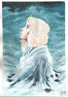 Acrylic Card: Veeti by MikaelHankonen