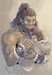 Big baby-crazed beast by MikaelHankonen