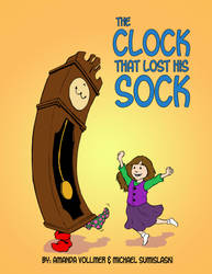Book Cover - The Clock that Lost His Sock by livewiredstudios