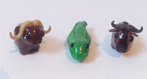 My miniature safari: Dangerous trio by RoOsaTejp