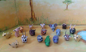 My miniature safari: close up by RoOsaTejp
