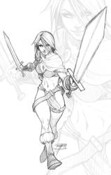 Tyra Sketchy by FooRay
