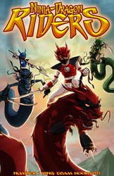 Ninja-DragonRiders by FooRay