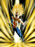 Super Saiyan with a side of laughter... by FooRay